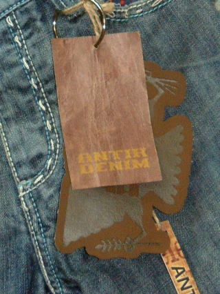 ANTIK DENIM CUT:M00003 STYLE:MN82603 COLOR:DENIMBLUE 100%COTTON