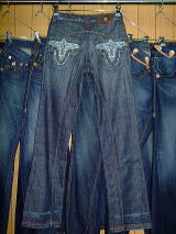 ANTIK DENIM CUT:#10000315 STYLE:MCM2923 ASSEMBLED IN MEXICO 100%COTTON